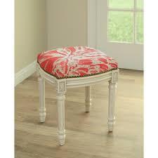 furniture upholstered vanity stool stool for vanity small