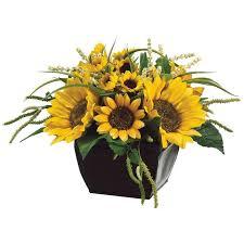 sunflower ribbon sunflower floral arrangement floral ribbon