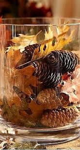 table decorations with pine cones thanksgiving tablescapes pine cone pine and leaves