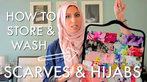 quick u0026 easy how to organize store u0026 care for your scarves