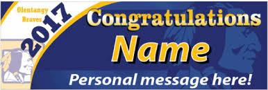 high school senior banners graduation banners signarama powell ohio custom signs for