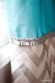 Sewing Drapery Panels Together Diy Back Tab Curtains I Heart Nap Time