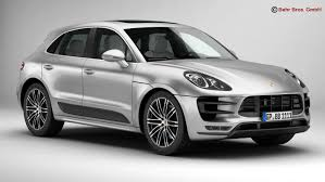 2015 porsche macan turbo macan turbo 2015 3d max