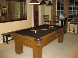 Pool Table In Living Room Pool Table In The Living Room