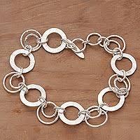 bracelet link silver sterling images Silver bracelets sterling silver bracelet gallery at novica jpg