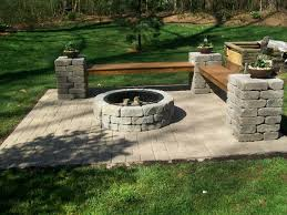 Firepit Kits Awesome Outdoor Fireplaces Pits Lowes Firepit Kit With Regard