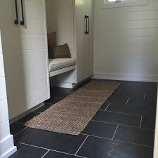 modern tile mudroom degraaf interiors