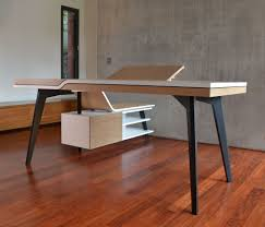 grand bureau en bois bureau gildas ebénisterie 111