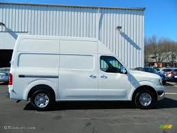 blizzard white 2012 nissan nv 2500 hd sv high roof exterior photo