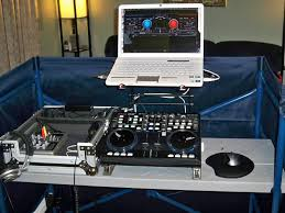 Dj Table Stand Virtual Dj Software Dj Equipment Laptop Stands Booths Tables