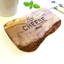 personalized cheese tray personalised wooden chopping cheese board by the rustic dish