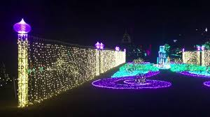 garvan gardens christmas lights 2016 garvan woodland gardens in springs arkansas youtube