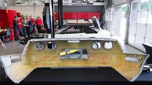 corvette restoration shops discovery changes strategy to fix sinkhole corvette cnn