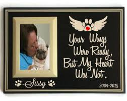 remembrance picture frame pet memorial frame pet loss gifts dog sympathy pet memorial