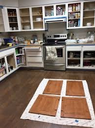 what of primer should i use on kitchen cabinets keep home simple how i painted our kitchen cabinets white