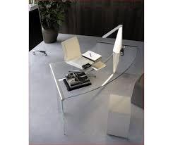 bureau de direction en verre bureau direction courbe verre haut de gamme lag