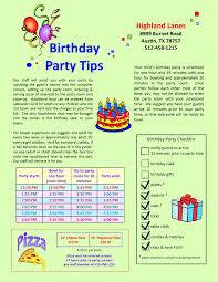 Map Card Austin by Highland Lanes U003e Parties U0026 Events U003e Kid U0027s Birthdays