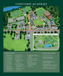 Boston College Campus Map by Contact Us U0026 Directions Concord Academy