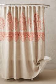 Bathroom With Shower Curtains Ideas by Plaid Shower Curtains Fabric Two Support Brown Wooden Storage