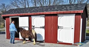 Loafing Shed Plans Horse Shelter by Barns For Miniature Horses Small Horse Barns Horizon Structures