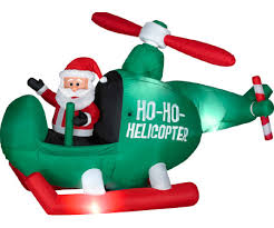 Air Blown Christmas Decorations Funny Inflatable Christmas Decorations