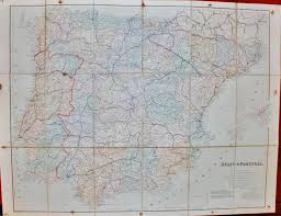 Map Of Spain And Portugal by London Atlas Map Of Spain And Portugal By Stanford Edward