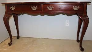 stanley furniture sofa table american heritage collection sofa table drawers stanley furniture