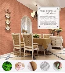 vivid 3d pe foam faux brick wallpaper for kids u0027 room self adhesive