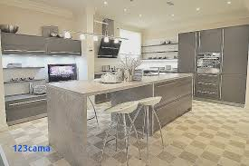 construire un ilot central cuisine cuisine equipee avec amenagement de cuisine avec ilot central