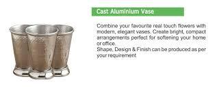 Aluminium Vases Prominent Group