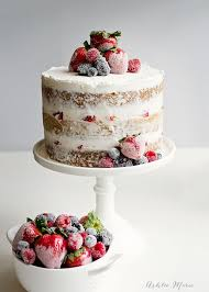 wedding cake recipes berry cake with candied and sugared berries berries sugaring