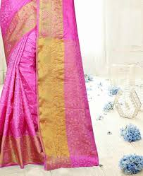fuschia buy bewitching fuschia casual saree aprm2196 at 45 43