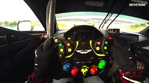 aston martin steering wheel 50 seconds of fury in the aston martin vantage gte race car youtube