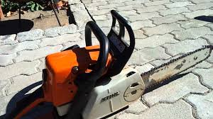stihl ms 230 c youtube