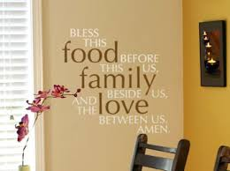 Dining Room Wall Quotes And Decals See Alternatives To Wall Stencils - Family room wall quotes