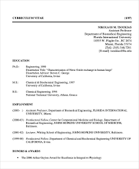 biomedical engineer resume 54 engineering resume templates free premium templates