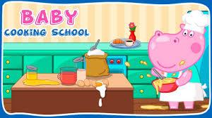cuisine dessin animé hippo école de cuisine bébé jeu de dessin animé pour les