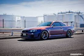 nissan skyline 2015 blue barely legal david u0027s nissan skyline r34 gtr stancenation