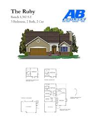 view house plans ranch home floor plans new homes in jefferson county fenton