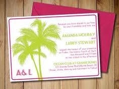destination wedding invitation beach caribbean illustrated wedding