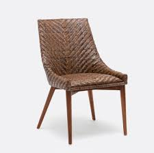 Woven Rattan Dining Chair Mecox Gardens - Woven dining room chairs