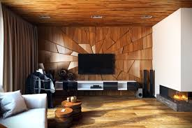 Contemporary Living Room by Download Living Room Wood Wall Designs Buybrinkhomes Com