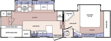 cardinal rv floor plans used 2006 forest river rv cardinal 312bh fifth wheel at blue dog rv