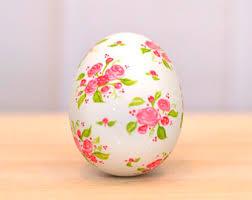ceramic easter eggs painted egg etsy