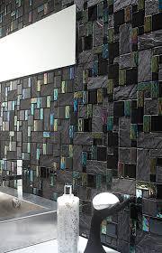 Kitchen Backsplashglass Tile And Slate by Slate Glass Tile French Pattern Black Bath Kitchens And House