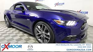 2015 ford mustang premium used 2015 ford mustang gt premium 2d coupe in louisville m12022a
