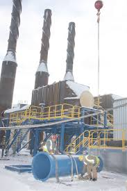 Marquette Board Of Light And Power Big Trio Of Engines To Energize Marquette Plant
