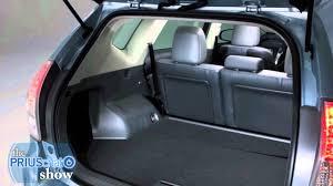 toyota prius luggage capacity 2012 toyota prius v review interior cargo space