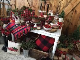 plaid christmas kara s party ideas vintage rustic plaid christmas party kara s