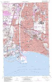San Francisco Topographic Map by Long Beach Topographic Map Ca Usgs Topo Quad 33118g2